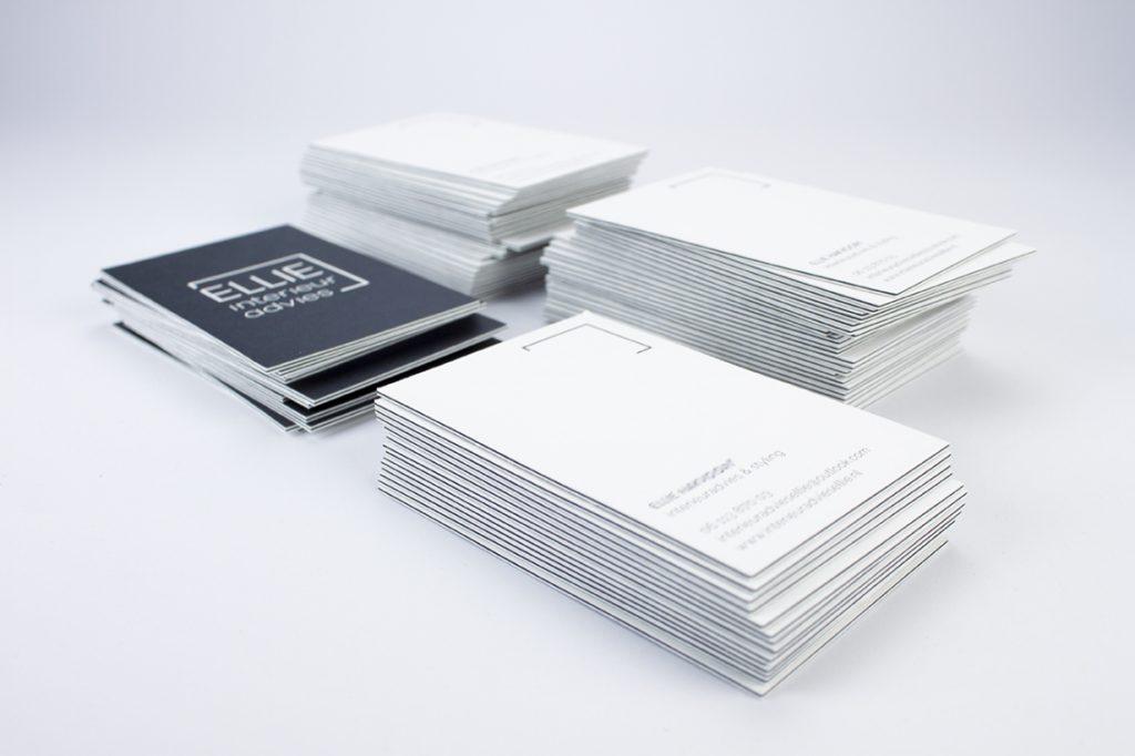 zakenkaart zwart/wit friesland